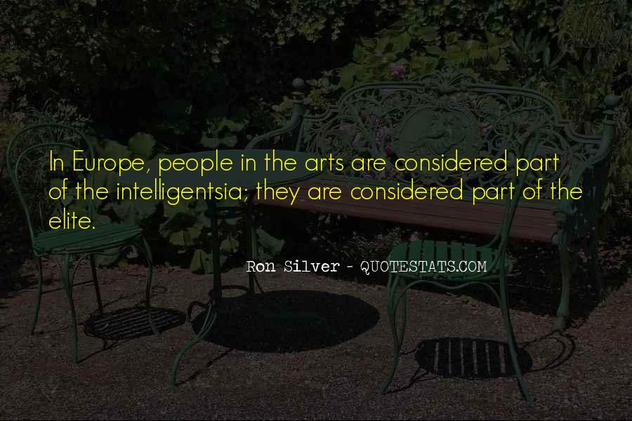 Intelligentsia's Quotes #1170465