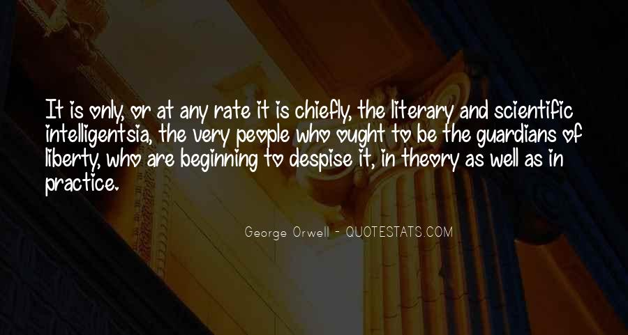 Intelligentsia's Quotes #121418