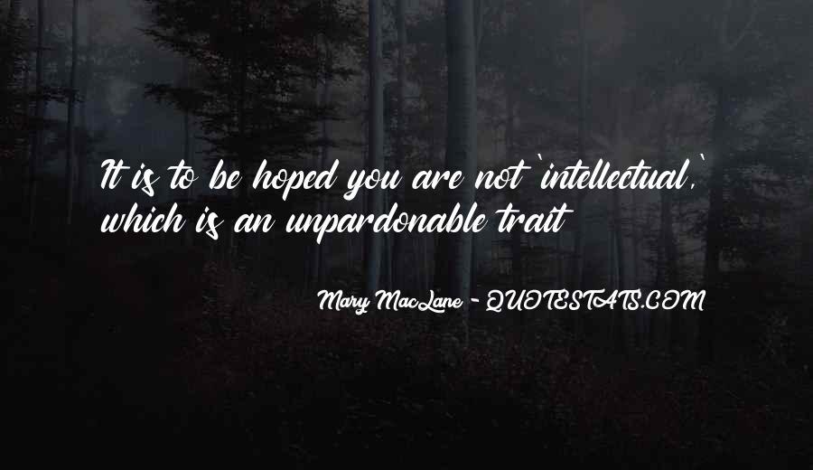 Intelligentsia's Quotes #811432