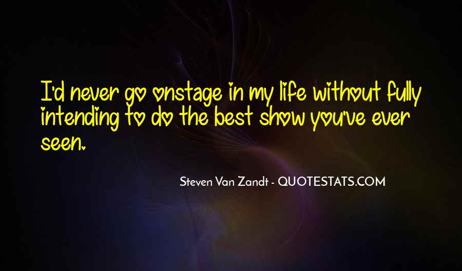 Intending Quotes #861143