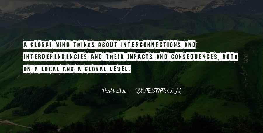 Interdependencies Quotes #419454