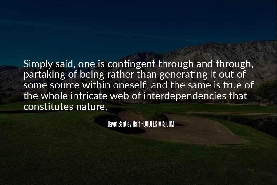 Interdependencies Quotes #608324