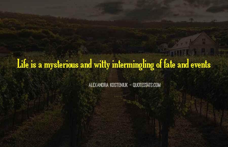 Intermingling Quotes #1791170