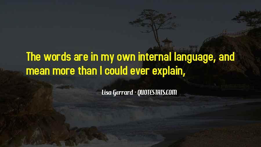 Internals Quotes #243470