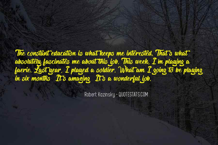 Quotes About Playing For Keeps #261802
