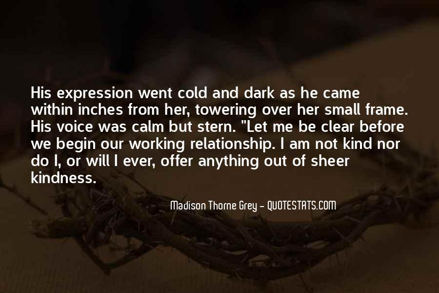 Quotes About Cold Relationship #1705485