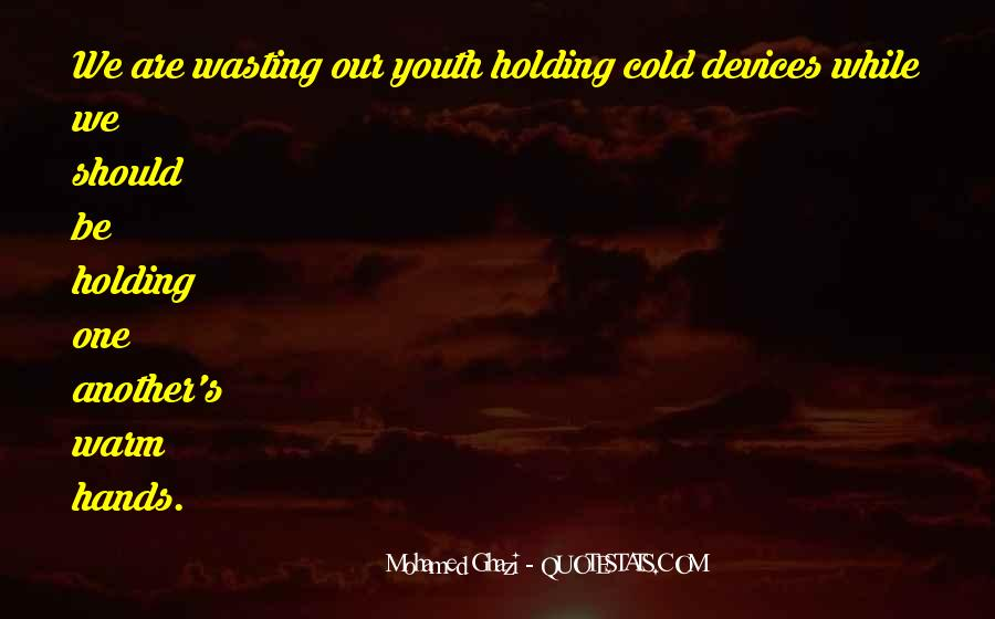 Quotes About Cold Relationship #266896