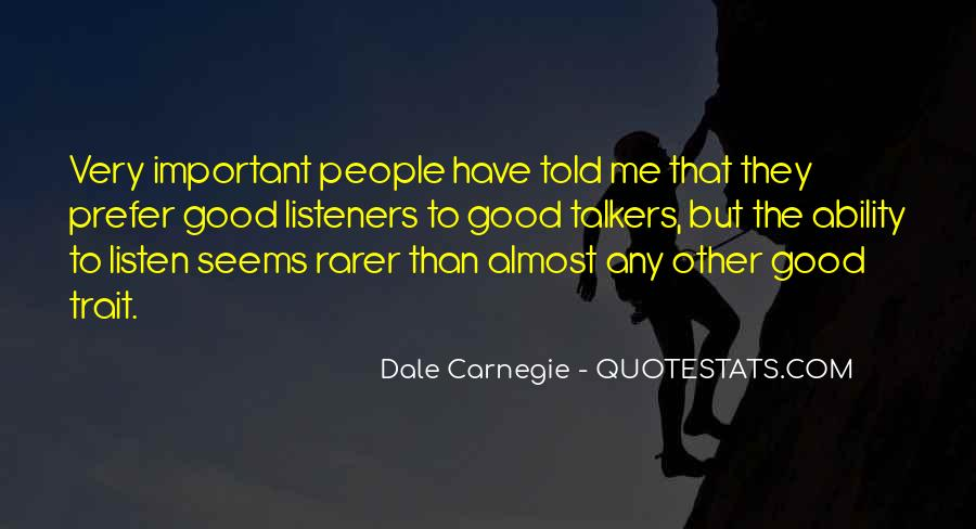 Quotes About Good Talkers #1310871
