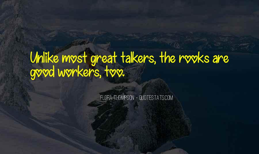 Quotes About Good Talkers #1341075