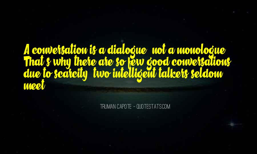 Quotes About Good Talkers #1396539