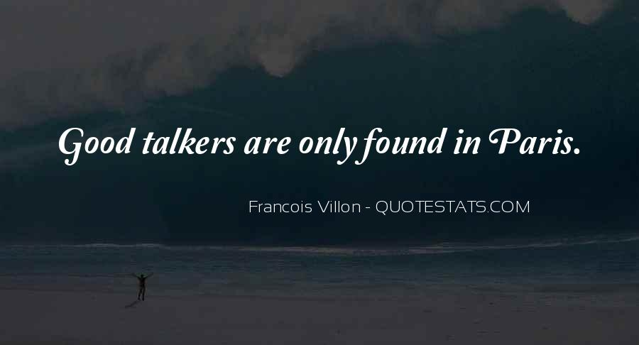 Quotes About Good Talkers #531124