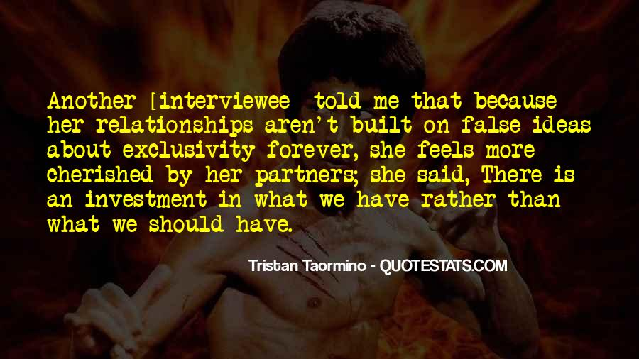 Interviewee's Quotes #817020