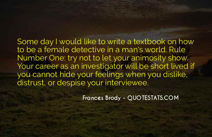 Interviewee's Quotes #959092