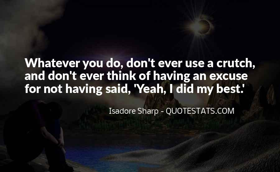 Isadore Quotes #1429335