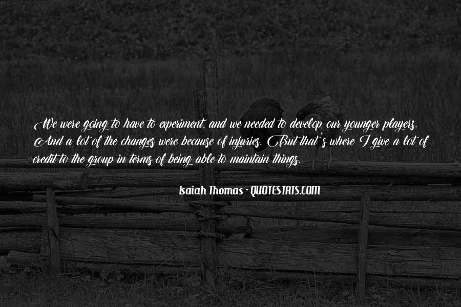 Isaiah's Quotes #1448378