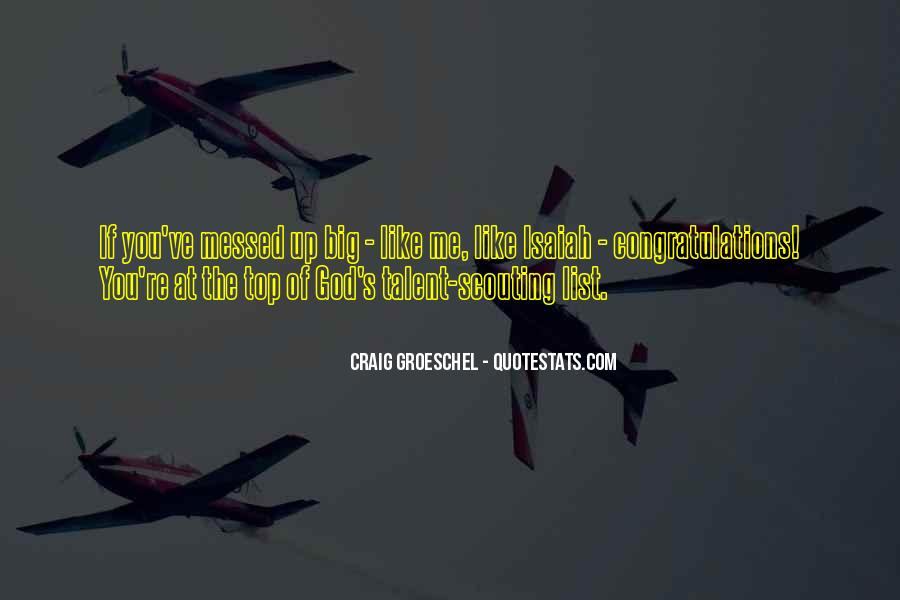 Isaiah's Quotes #1629431