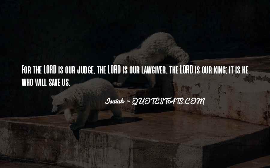 Isaiah's Quotes #168708