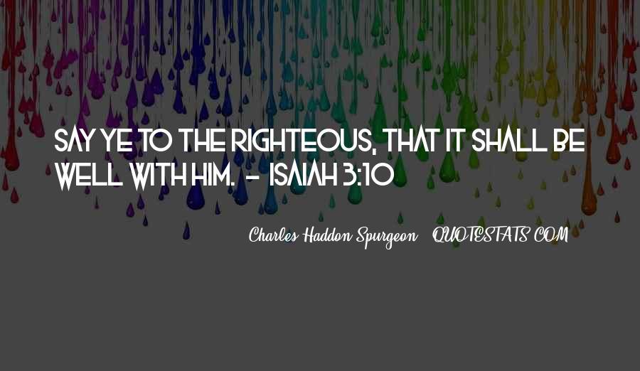 Isaiah's Quotes #210390