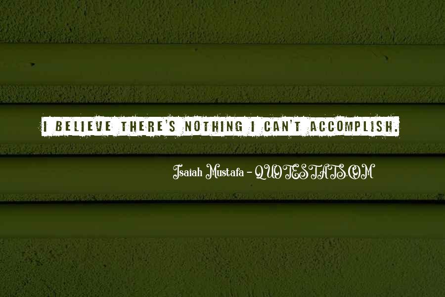 Isaiah's Quotes #253254