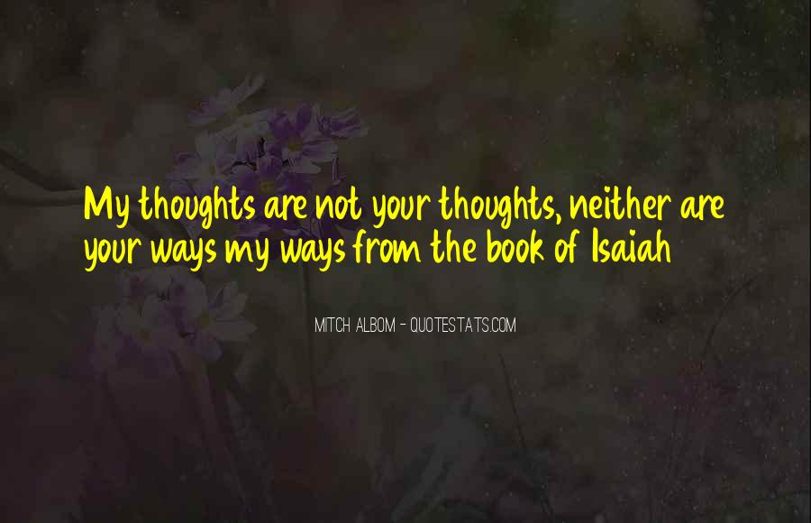 Isaiah's Quotes #269441