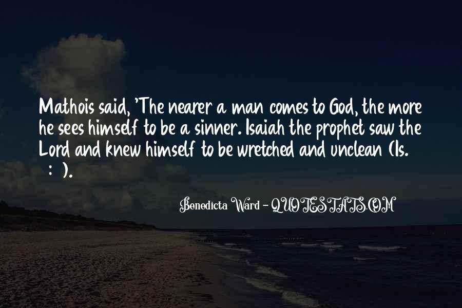 Isaiah's Quotes #48430