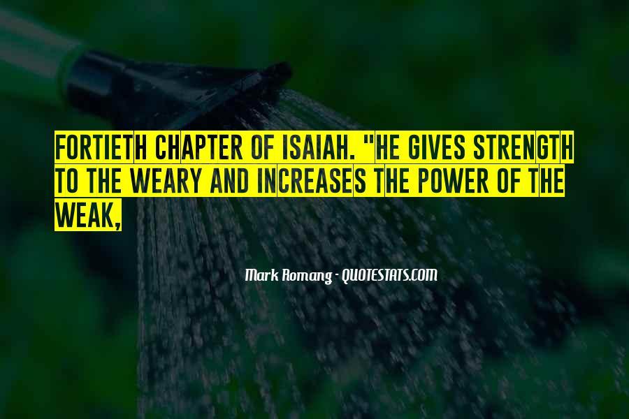 Isaiah's Quotes #52453