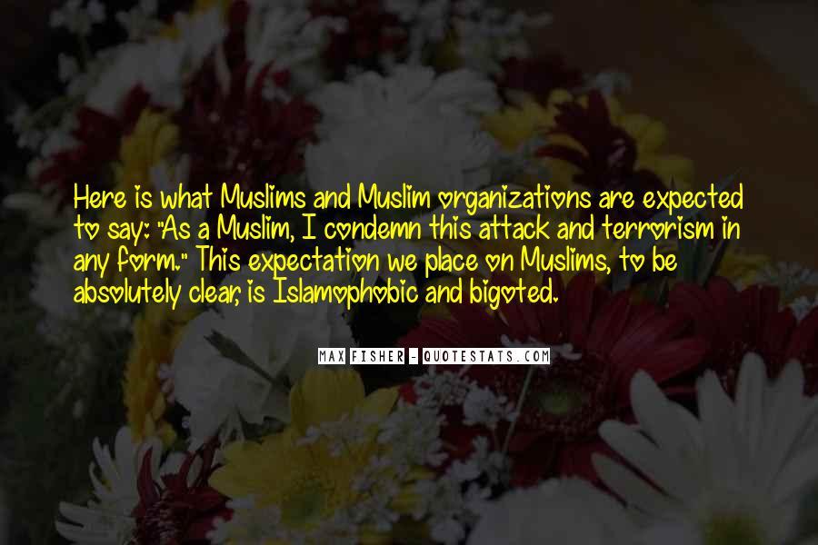 Islamophobic Quotes #1217966