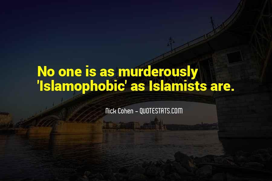 Islamophobic Quotes #153946