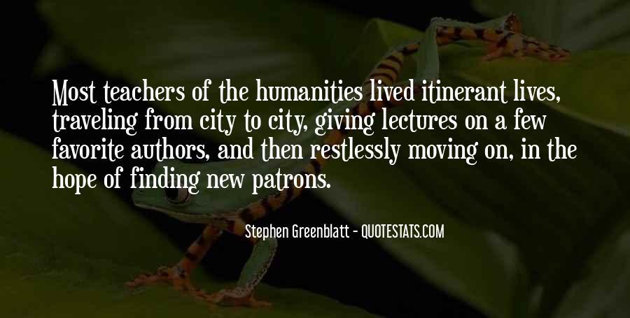 Itinerant Quotes #529594