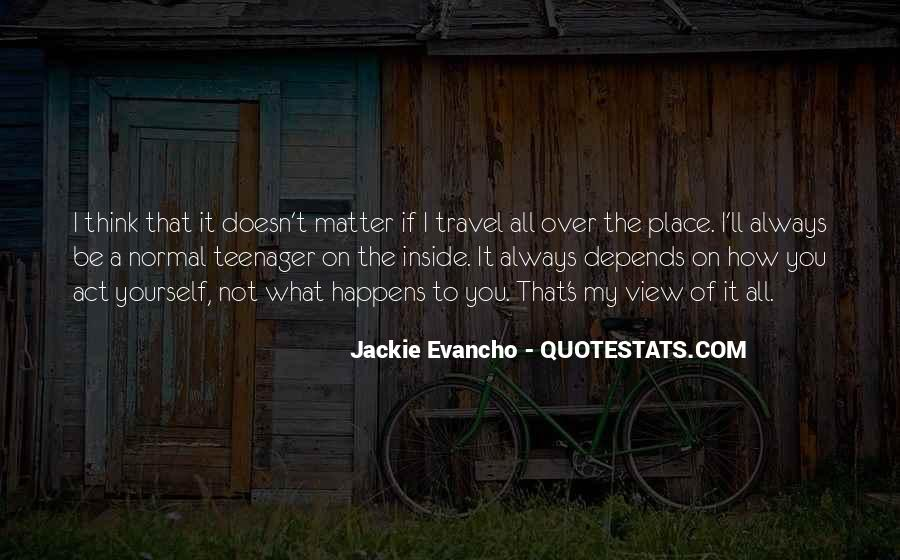 Jackie's Quotes #370653