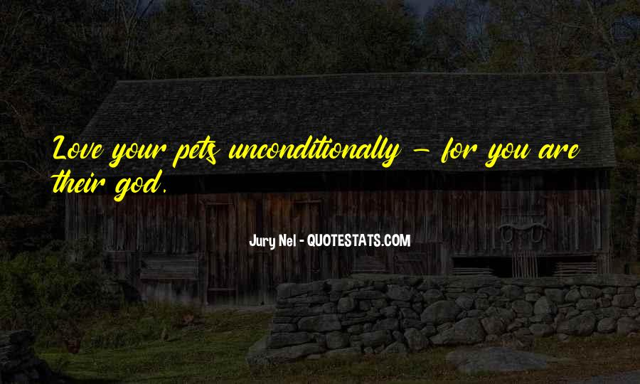 Quotes About Pets Love #1200508