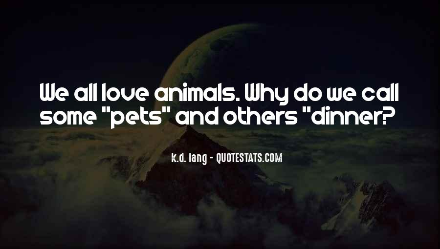 Quotes About Pets Love #462373
