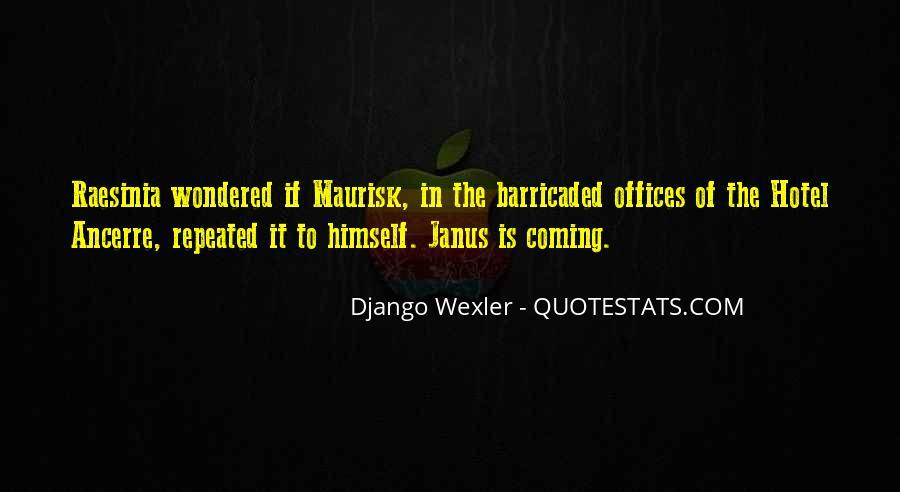 Janus's Quotes #1634499