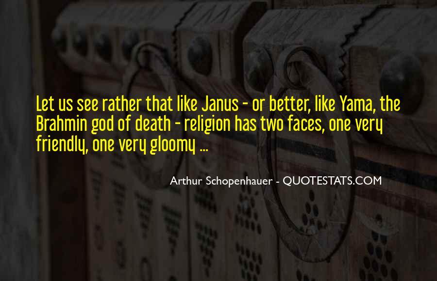 Janus's Quotes #1778953