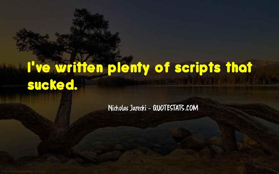 Jarecki Quotes #677705
