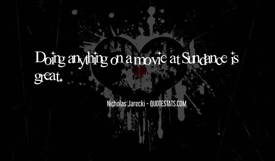 Jarecki Quotes #913118