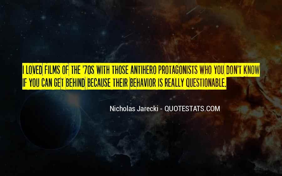 Jarecki Quotes #922411