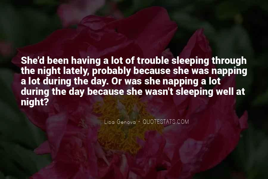 Quotes About Sleeping All Day #109121