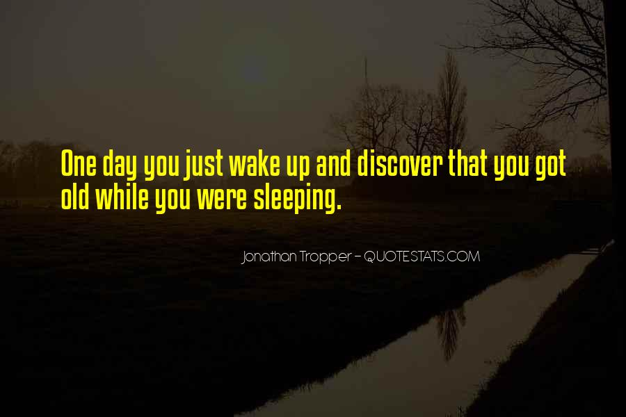 Quotes About Sleeping All Day #1292068