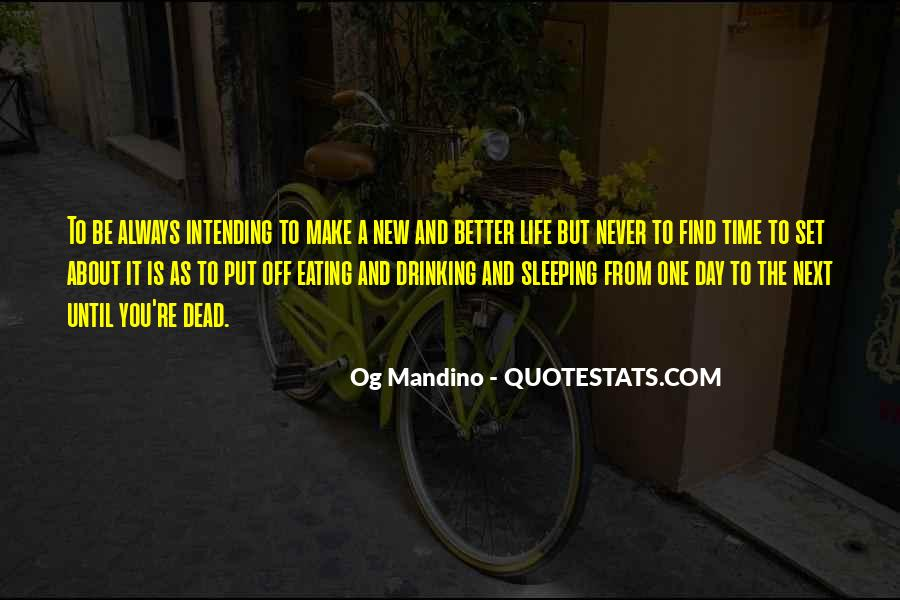Quotes About Sleeping All Day #149984