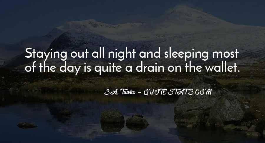 Quotes About Sleeping All Day #494983