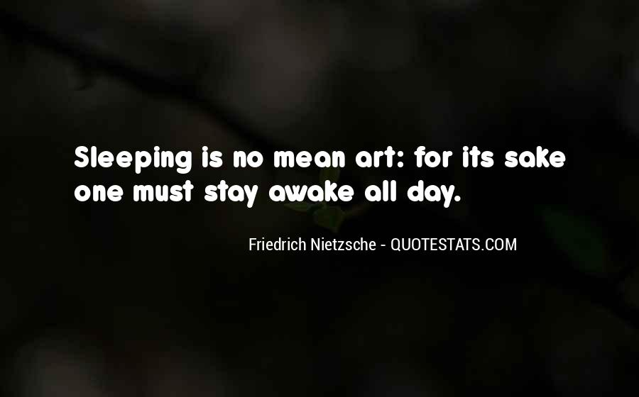 Quotes About Sleeping All Day #49675