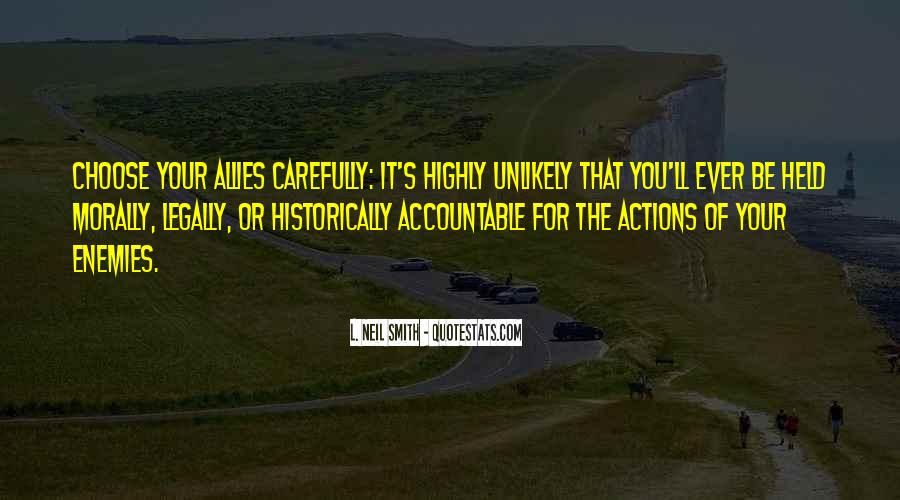Quotes About Being Held Accountable #1032106