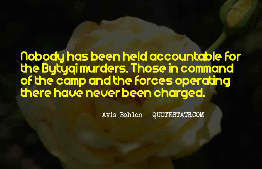 Quotes About Being Held Accountable #1054804