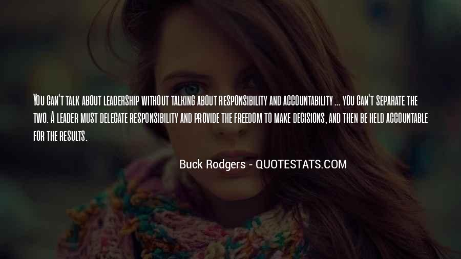 Quotes About Being Held Accountable #1059601