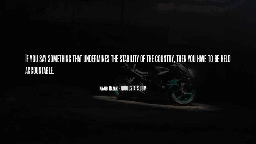 Quotes About Being Held Accountable #1206905