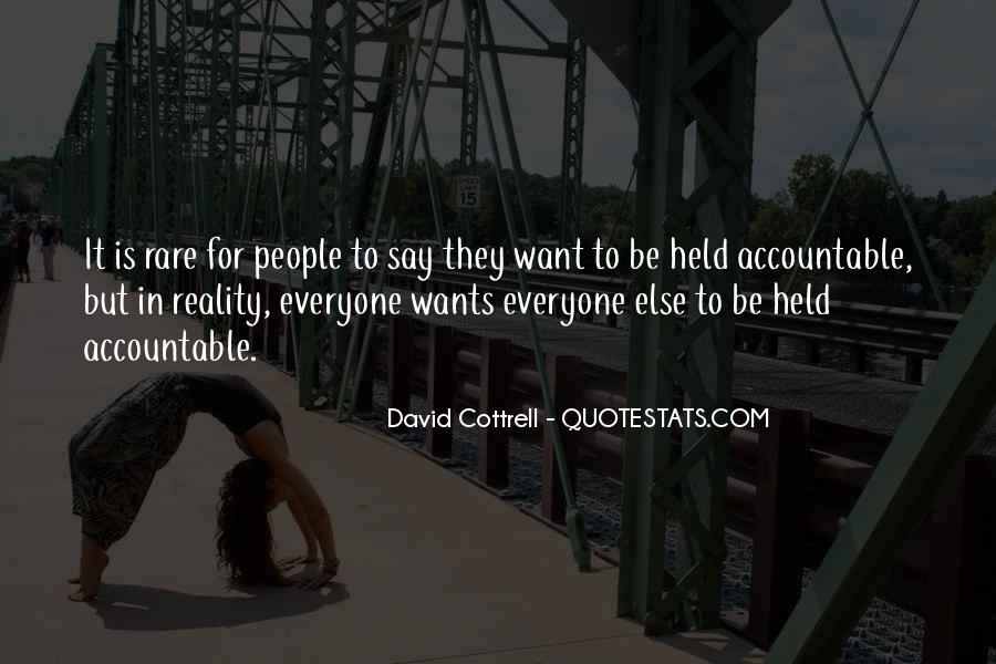 Quotes About Being Held Accountable #1254833