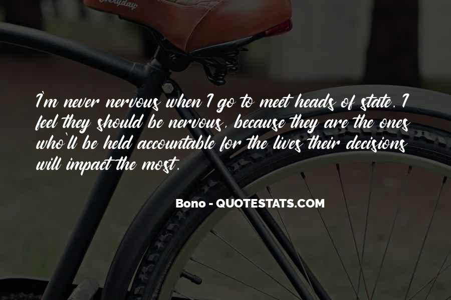 Quotes About Being Held Accountable #1329723