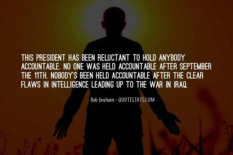 Quotes About Being Held Accountable #1389931