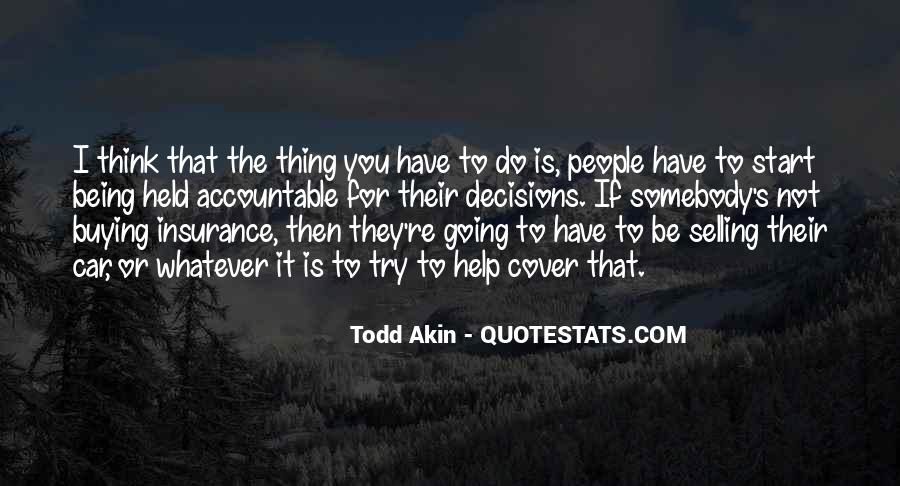 Quotes About Being Held Accountable #290029